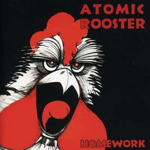 ATOMIC ROOSTER - Homework cover