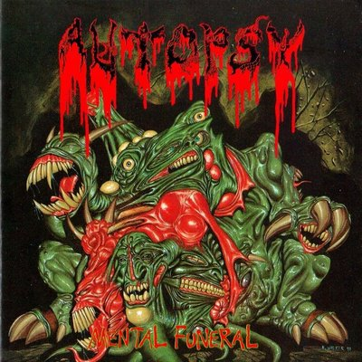 AUTOPSY - Mental Funeral cover