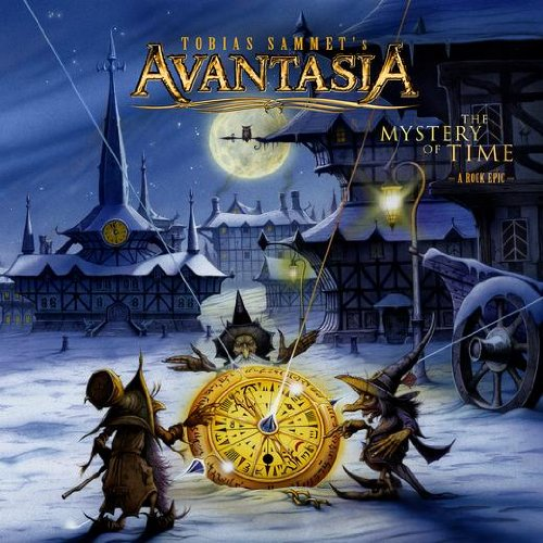 AVANTASIA - The Mystery of Time cover