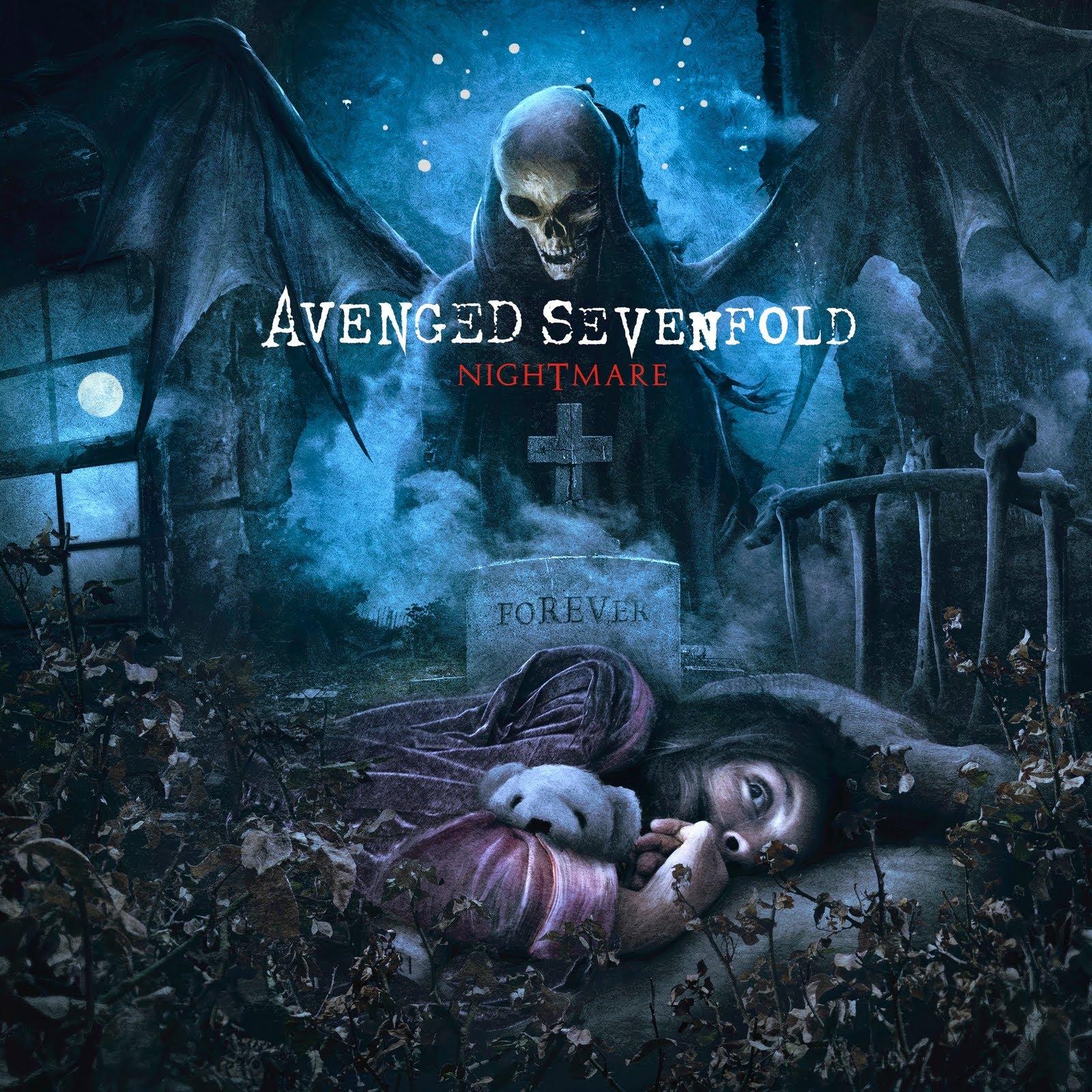 AVENGED SEVENFOLD - Nightmare cover