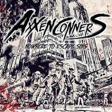 AXXEN CONNERS - Nowhere To Escape Sins cover