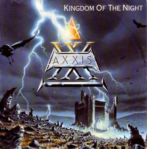 AXXIS - Kingdom of the Night cover
