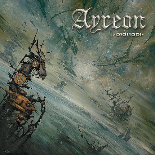 AYREON - 01011001 cover