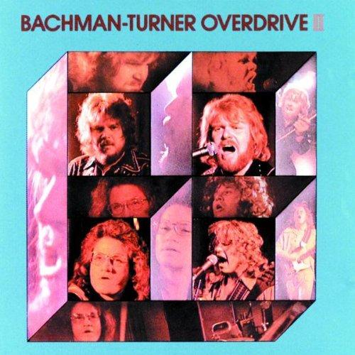 BACHMAN-TURNER OVERDRIVE - Bachman-Turner Overdrive II cover
