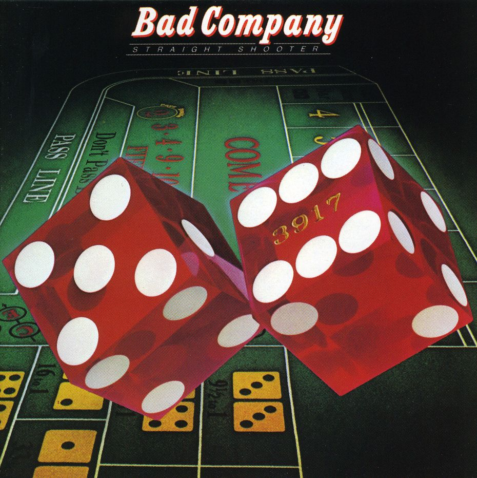 BAD COMPANY - Straight Shooter cover