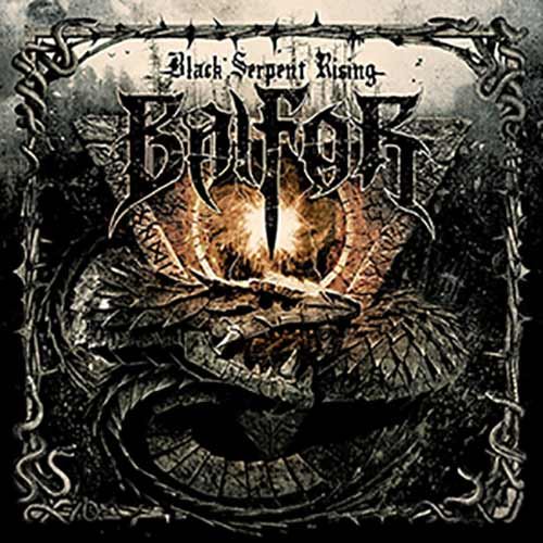 BALFOR - Black Serpent Rising cover