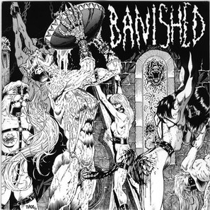 BAPHOMET - Altered Minds / Cast Out the Flesh cover