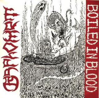BAPHOMET - Boiled in Blood cover