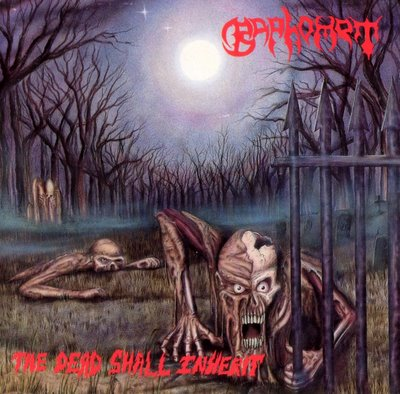 BAPHOMET - The Dead Shall Inherit cover