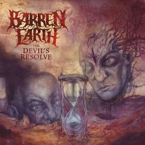 BARREN EARTH - The Devil's Resolve cover