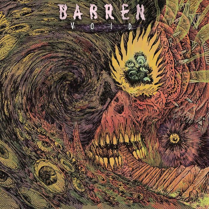 BARREN - Void cover