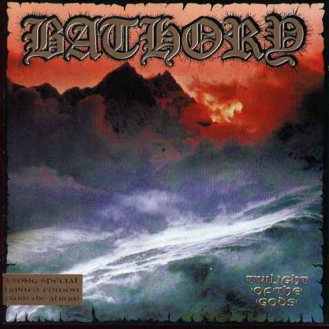 BATHORY - Twilight of the Gods cover