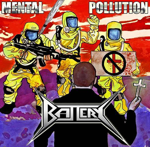 BATTERY - Mental Pollution cover