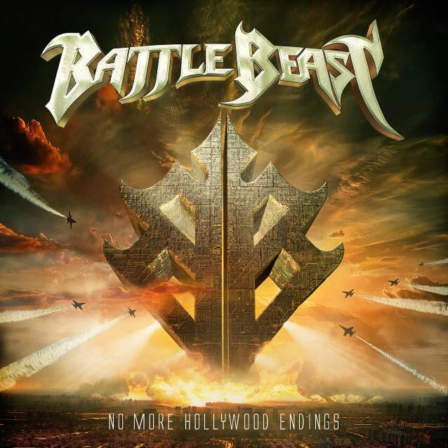 BATTLE BEAST - No More Hollywood Endings cover