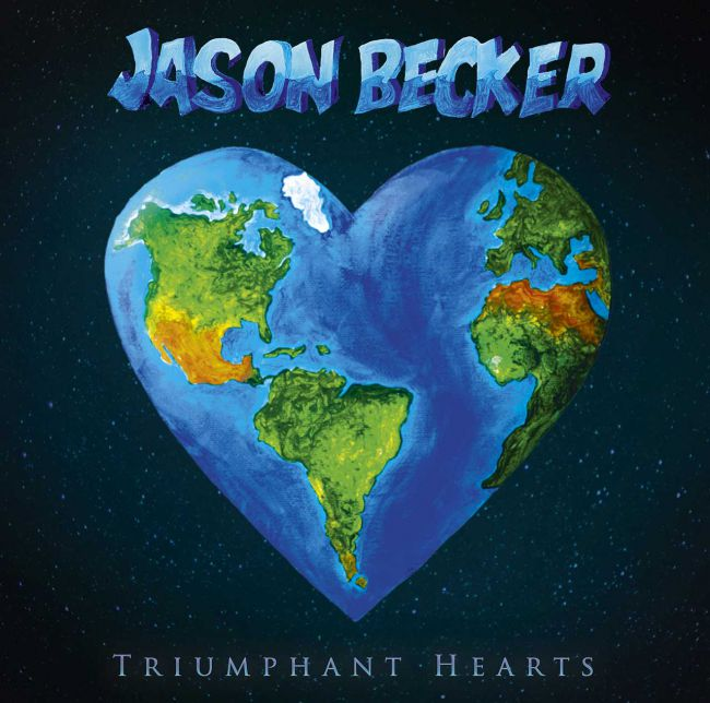 JASON BECKER - Triumphant Hearts cover