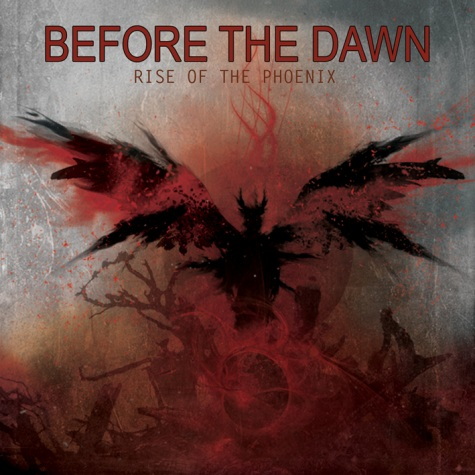 BEFORE THE DAWN - Rise Of The Phoenix cover