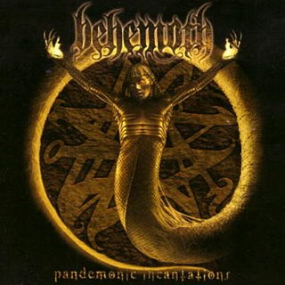 BEHEMOTH - Pandemonic Incantations cover
