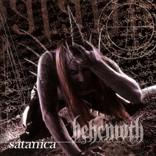 BEHEMOTH - Satanica cover