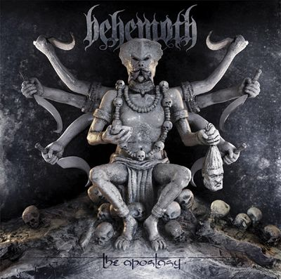 BEHEMOTH - The Apostasy cover
