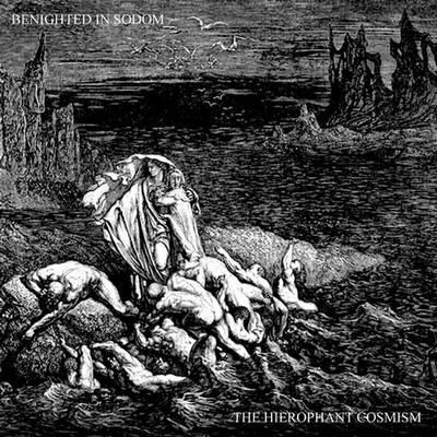 BENIGHTED IN SODOM - The Hierophant Cosmism cover
