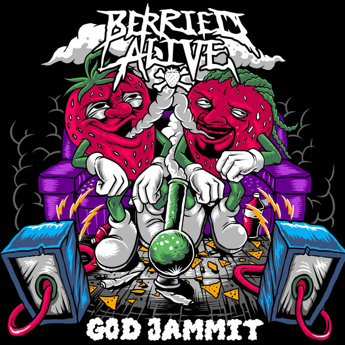 BERRIED ALIVE - God Jammit cover