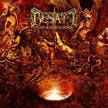 BESATT - Tempus Apocalypse cover