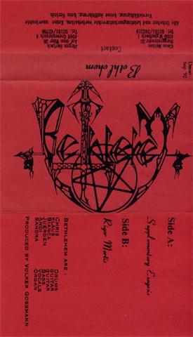 BETHLEHEM - Bethlehem cover