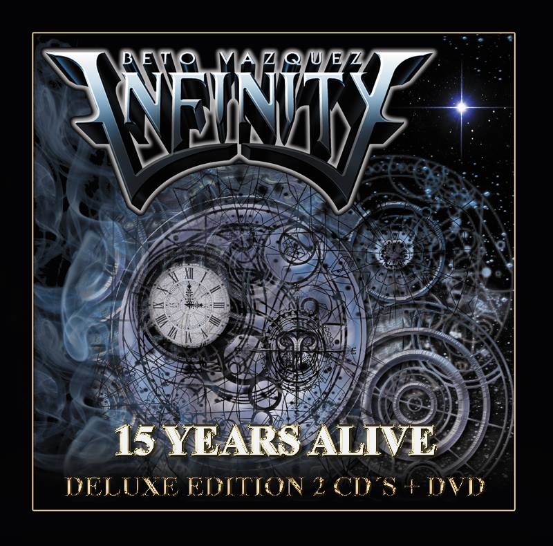 BETO VÁZQUEZ INFINITY - 15 Years Alive LTD Edition cover