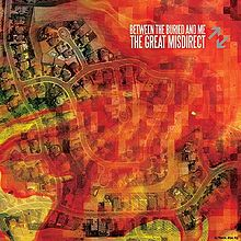 BETWEEN THE BURIED AND ME - The Great Misdirect cover