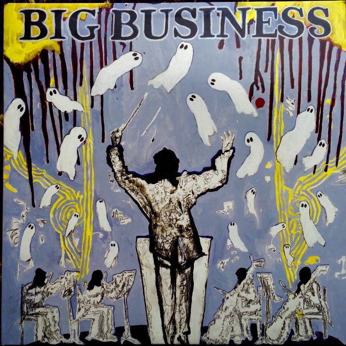 BIG BUSINESS - Head For The Shallow cover