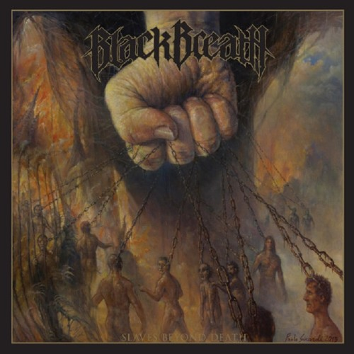 BLACK BREATH - Slaves Beyond Death cover