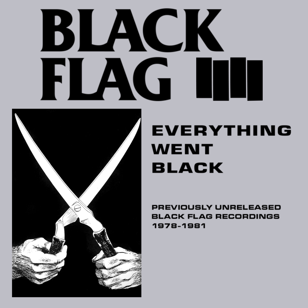 BLACK FLAG - Everything Went Black cover
