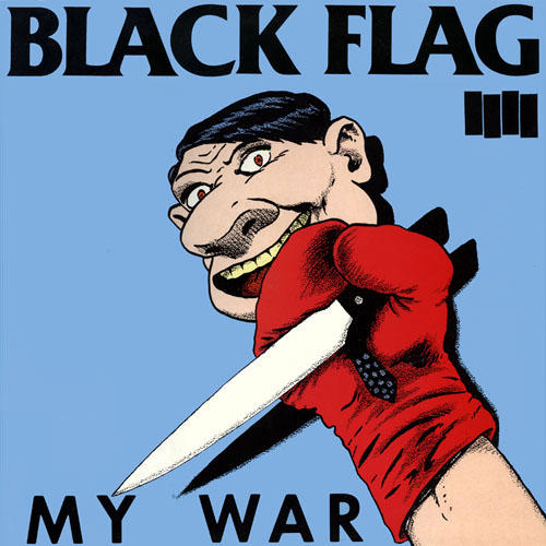 BLACK FLAG - My War cover