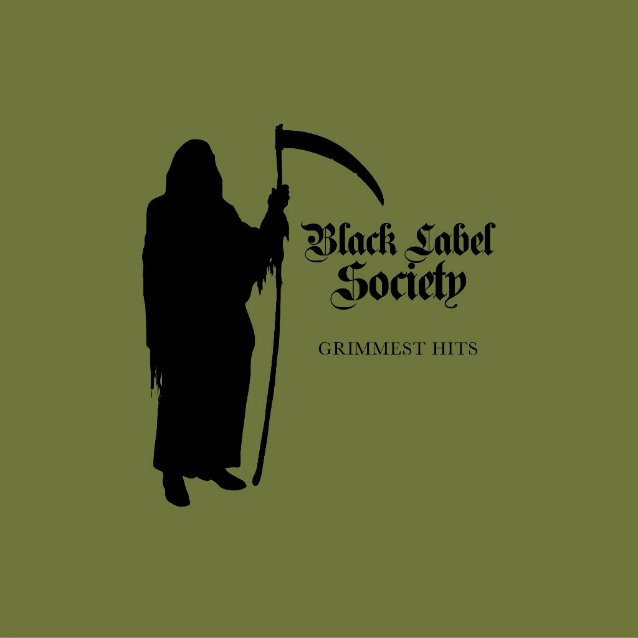 BLACK LABEL SOCIETY - Grimmest Hits cover