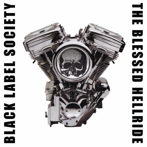 BLACK LABEL SOCIETY - The Blessed Hellride cover