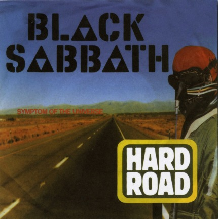 BLACK SABBATH - A Hard Road cover