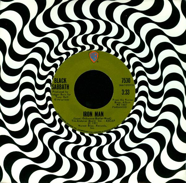 BLACK SABBATH - Iron Man / Electric Funeral  cover