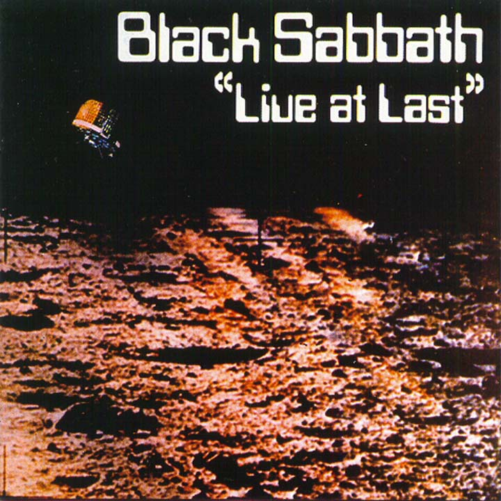 BLACK SABBATH - Live At Last cover