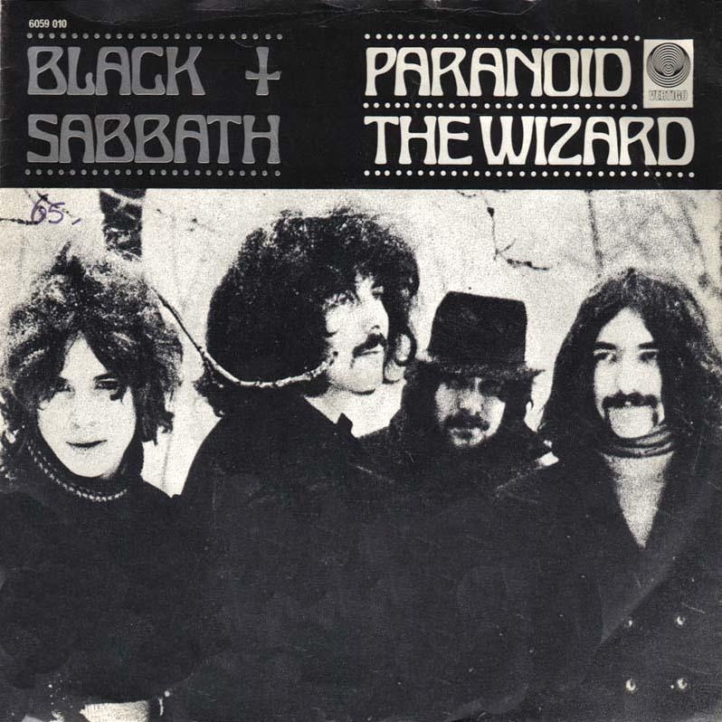 BLACK SABBATH - Paranoid cover