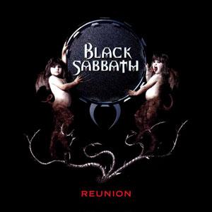 BLACK SABBATH - Reunion cover
