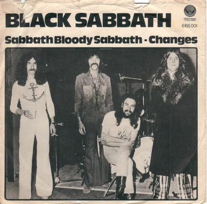 BLACK SABBATH - Sabbath Bloody Sabbath cover