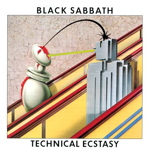 BLACK SABBATH - Technical Ecstasy cover