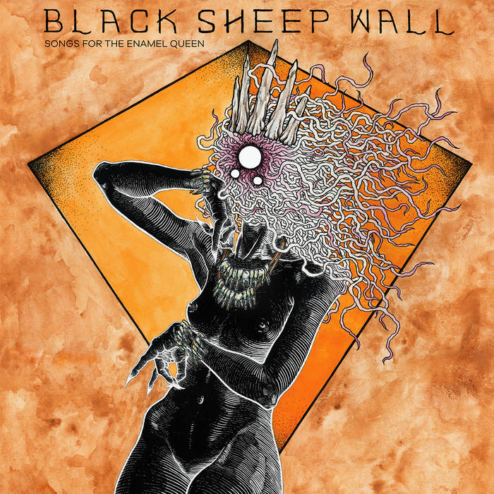 BLACK SHEEP WALL - Songs For The Enamel Queen cover