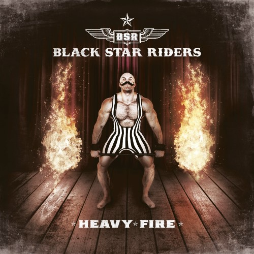 BLACK STAR RIDERS - Heavy Fire cover