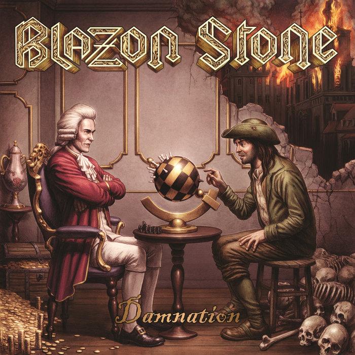 BLAZON STONE - Damnation cover