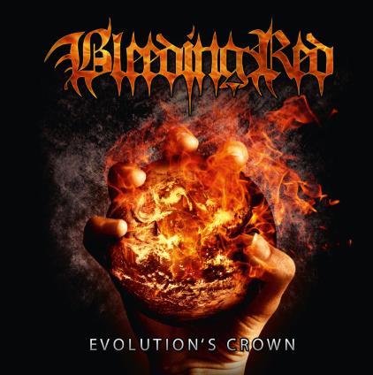 BLEEDING RED - Evolution's Crown cover