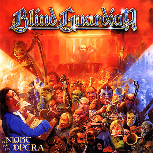 BLIND GUARDIAN - A Night at the Opera cover