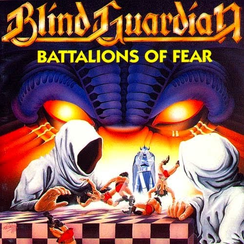 BLIND GUARDIAN - Battalions of Fear cover
