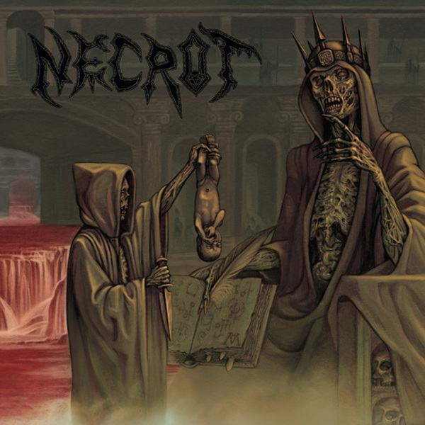 NECROT - Blood Offerings cover