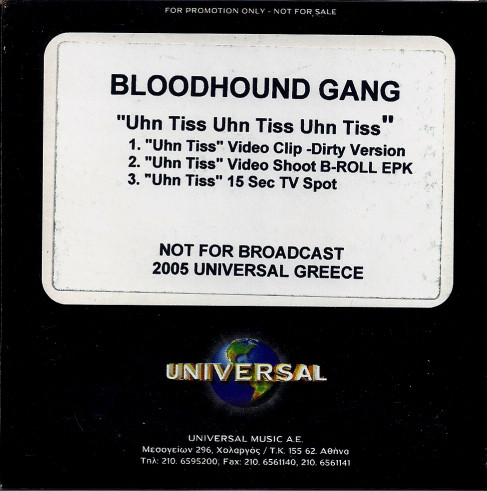 BLOODHOUND GANG - Uhn Tiss Uhn Tiss Uhn Tiss cover